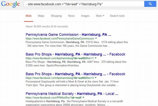 Google can help you find social media clients